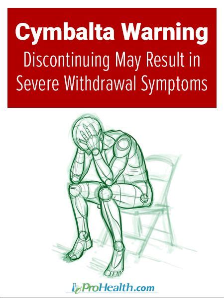 How To Detox From Cymbalta cymbalta warning discontinuing may result in severe