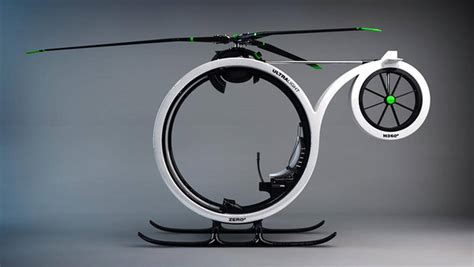 Ultra Light by Wordlesstech Zero Ultralight Helicopter Concept
