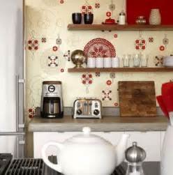 Kitchen Wallpaper Ideas by Country Kitchen Wallpaper Design Ideas