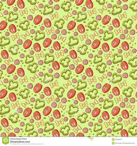 vector italian pasta pattern stock illustration vector italian pasta pattern stock illustration image