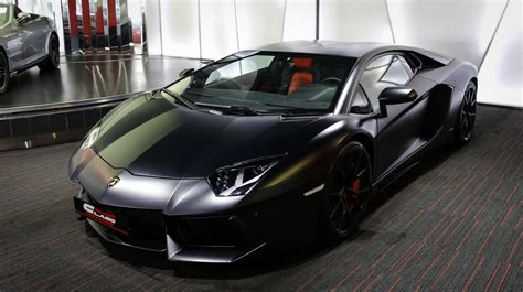 satin black maserati this satin black lamborghini aventador is looking for a