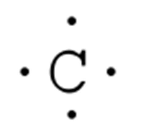 dot diagram of carbon lewis diagrams and structures chemical reactions