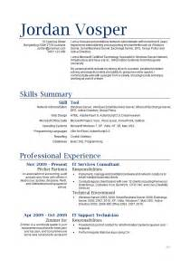 resume job responsibilities server 4