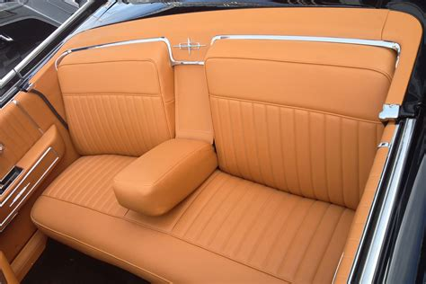 Custom Leather Upholstery For Cars by Cool Custom Car Interiors At Sema Lowrider Magazine