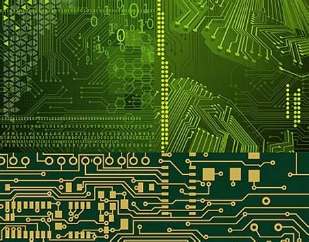 circuit board template circuit board background template green realistic design