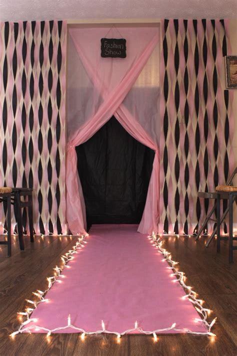 sweet sixteen theme on pinterest 41 pins diy fashion show runway for birthday party diy