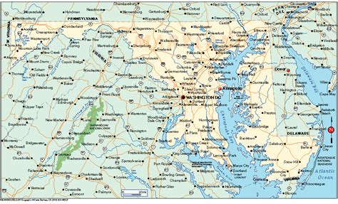 maryland driving map delmarvalous outdoors guide to cing and outdoor