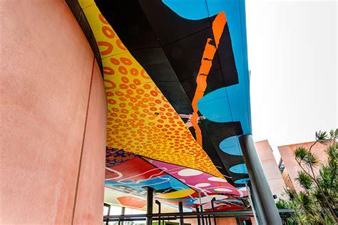 hense paints prismatic passageway   university  perth