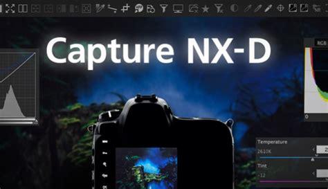 nikons  capture nx  software   released