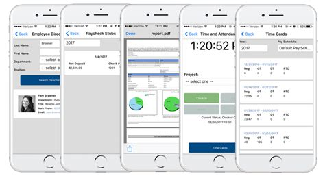 mobile human resources infinityhr app human resources app for mobile devices