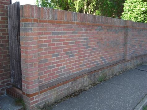 Rebuild Brick Garden Wall Bricklaying Job In Chelmsford Brick Garden Walls