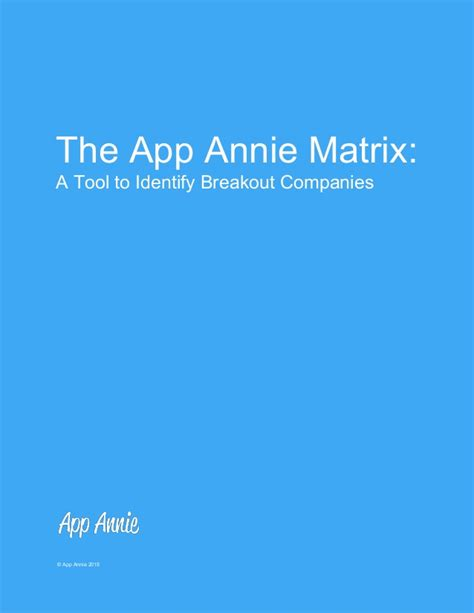 Apps For Finding The App Matrix A Framework For Finding Tomorrow S App Supersta
