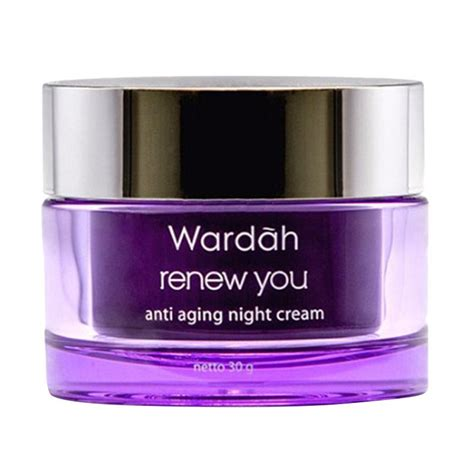 Wardah Renew You jual wardah renew you anti aging 30 g 321316