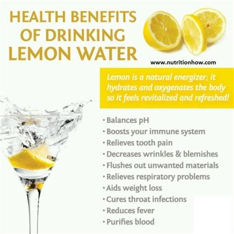 Benefits Of Morning Detox Water by 7 Healthy Things To Add To Your Water