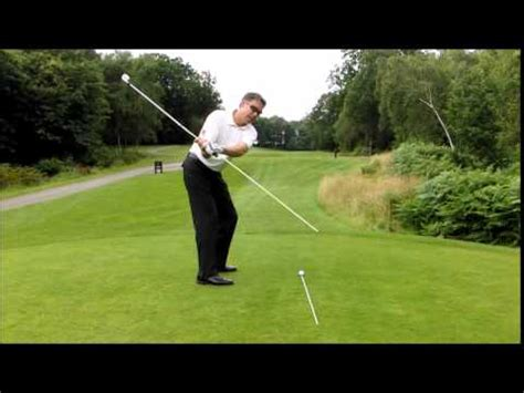 how to keep golf swing on plane golf lessons on plane golf backswing made easy youtube