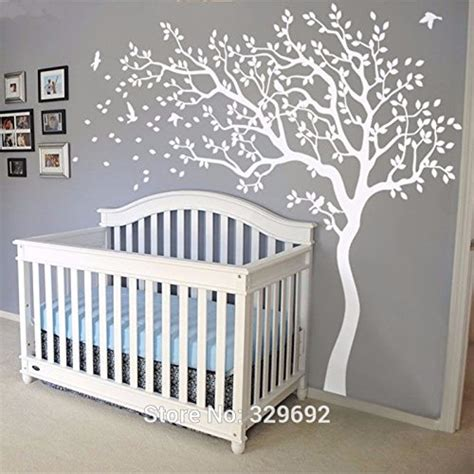 Wandtattoo Kinderzimmer Baum Weiss by Wandtattoo Babyzimmer Baum Reuniecollegenoetsele