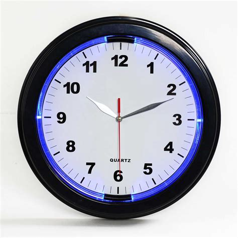 in light clock light wall clock modern bit of workmanship