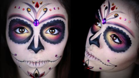tutorial skull sugar skull makeup tutorial