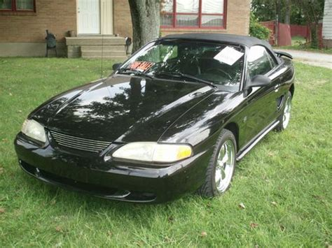 1995 mustang gt supercharger buy used 1995 ford mustang gt conv supercharged 5 0l in