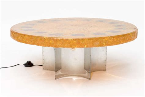 Resin Coffee Tables Accolay Fractured Resin Coffee Table For Sale At 1stdibs
