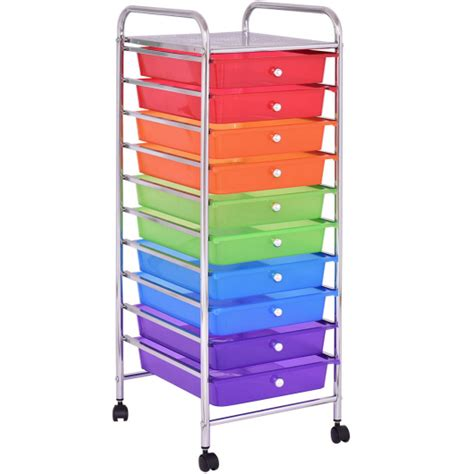 recollections 10 drawer rolling cart instructions storage drawer cart best storage design 2017