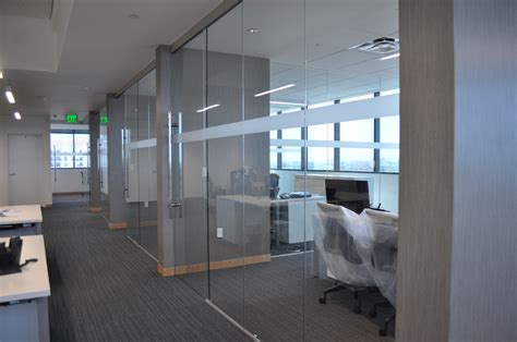 increase in the use of sliding glass doors as office