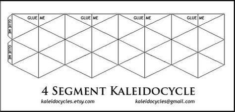 printable flextangle kaleidocycles amazing dynamic papercraft papercraft