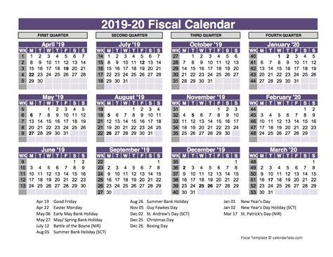 uk fiscal calendar template    printable templates