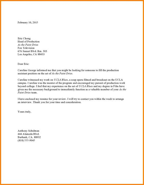 sle cover letter with referral 10 referral letter sle appeal leter