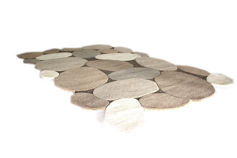 teppich stein hochflor teppich schurwolle stein optik ca 160 x 230 cm
