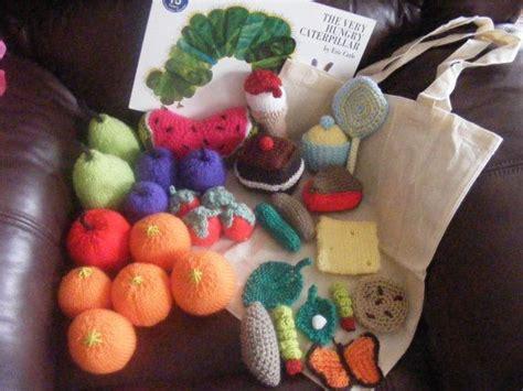 knitting pattern very hungry caterpillar the very hungry caterpillar knitted crocheted food