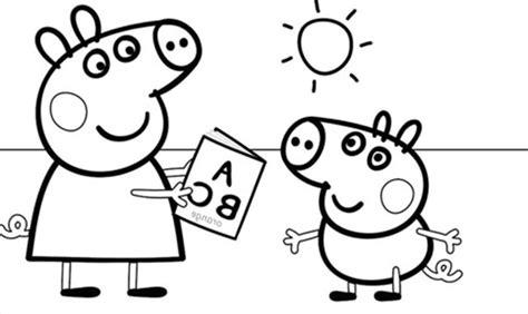 Imagenes Para Colorear Online | dibujos animados para colorear online de peppa pig y