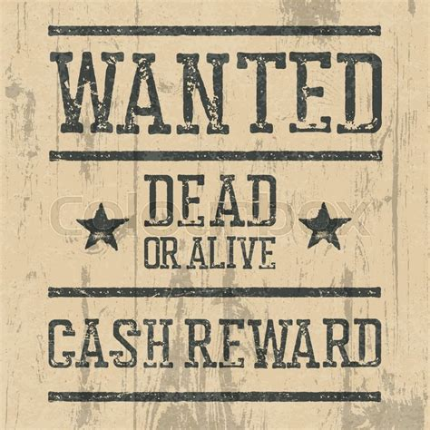 writing a letter for an wanted template quot wanted quot poster design template with wanted sign and