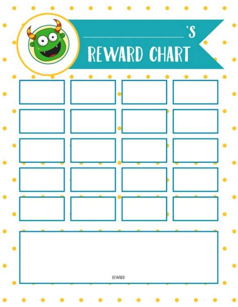 printable reward chart school preschool incentive charts images reverse search