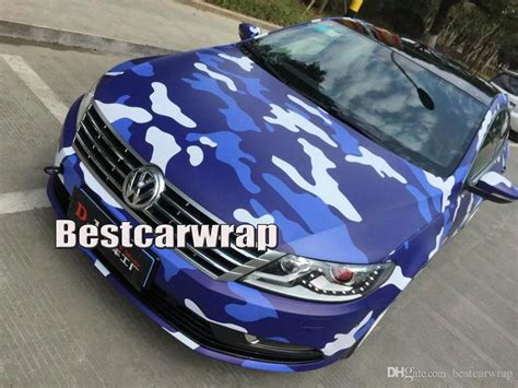 Stiker Camo Camouflage 138 2018 blue arctic camo vinyl car wrapping camouflage