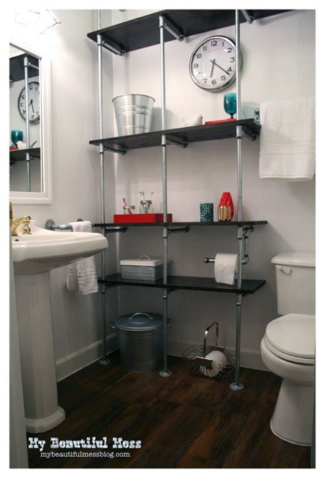 industrial pipe shelves tutorial they work great anywhere tips for a diy industrial pipe shelving unit page 2 of 2 diy show diy