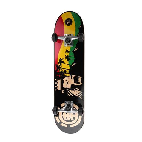 complete decks the gallery for gt element skateboard decks rasta
