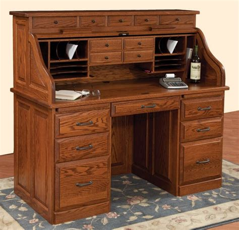 roll top desk with hutch roll top desk with hutch amish mission roll top desk