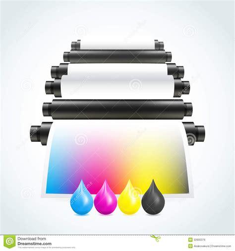 eps format for printing printing machine royalty free stock image image 32600376