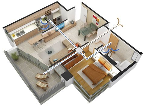 whole house exhaust fan whole house ventilation systems continuous centralised