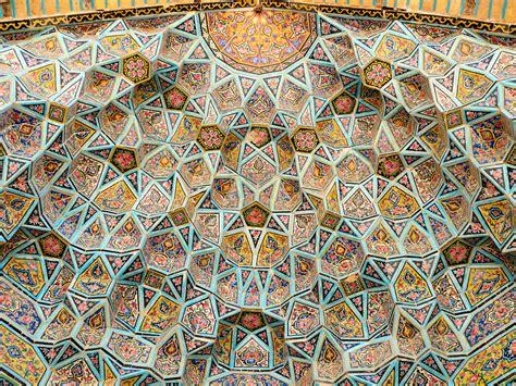 history of pattern in art world historical architectures effects شیراز مسجد