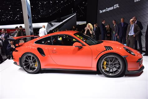 porsche gt3 rs 2016 2016 porsche 911 gt3 rs side photo 1