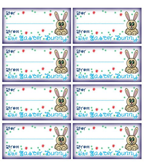 easter name tags template free printable easter basket name tags happy easter