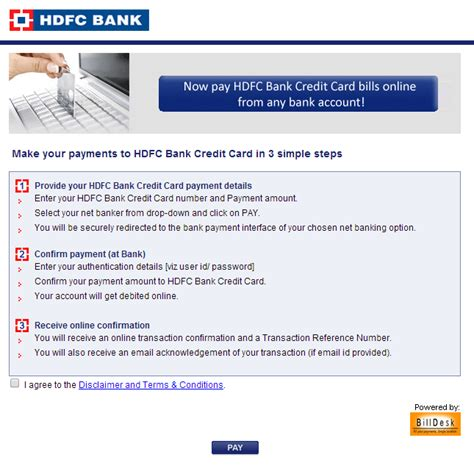 Hdfc Credit Card Bill Sle Hdfc Credit Card Bill Payment Www Hdfcbank