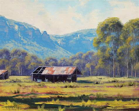 Landscape Paintings Australia Australian Landscape Painters