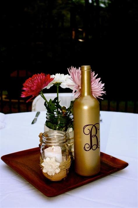 wine bottle candle centerpieces 25 best ideas about jar wine on masons tinting jars and jars