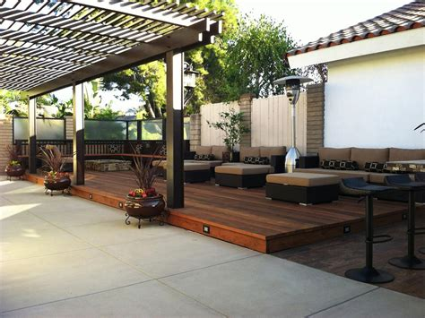 backyard deck designs outdoor heaters options and solutions hgtv