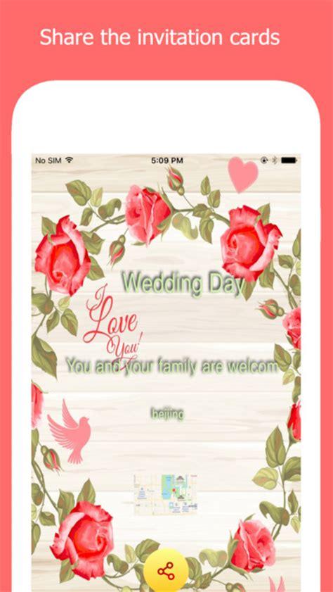 invitation design ipad app app shopper invitation card make r for birthday wedding