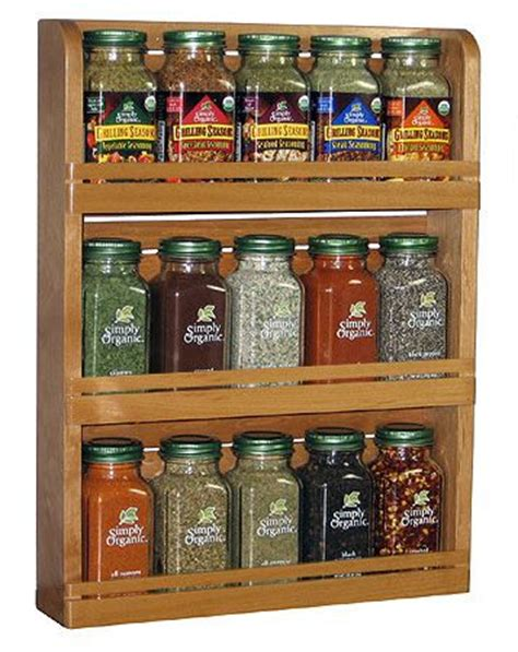Organic Spice Rack by Simply Organic Spice Rack Random Things