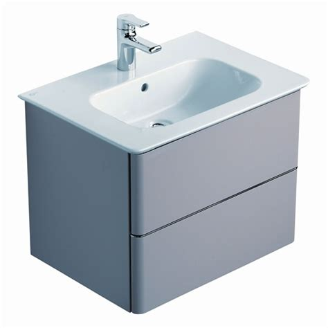 ideal standard softmood 2 drawer vanity unit nationwide